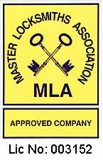 Master Locksmiths Association Approved Company Logo